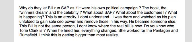 SAP CEO