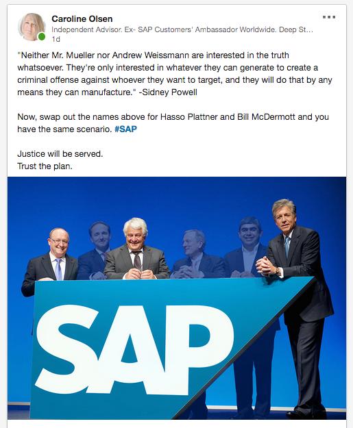 SAP Hasso Plattner 2019